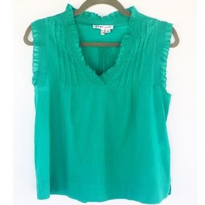 See By Chloe green blouse size 2